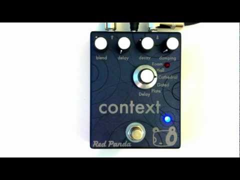 Red Panda Context - Reverb Demo with Bass
