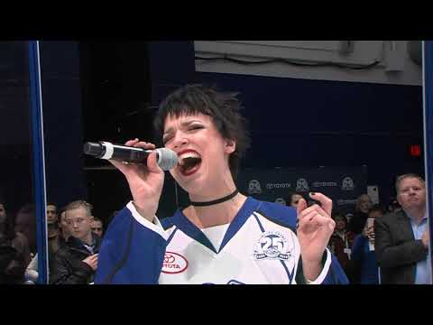 Lzzy Hale National Anthem