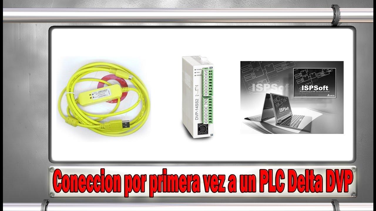 PLC Delta DVP SS2 - Fisrt Conection