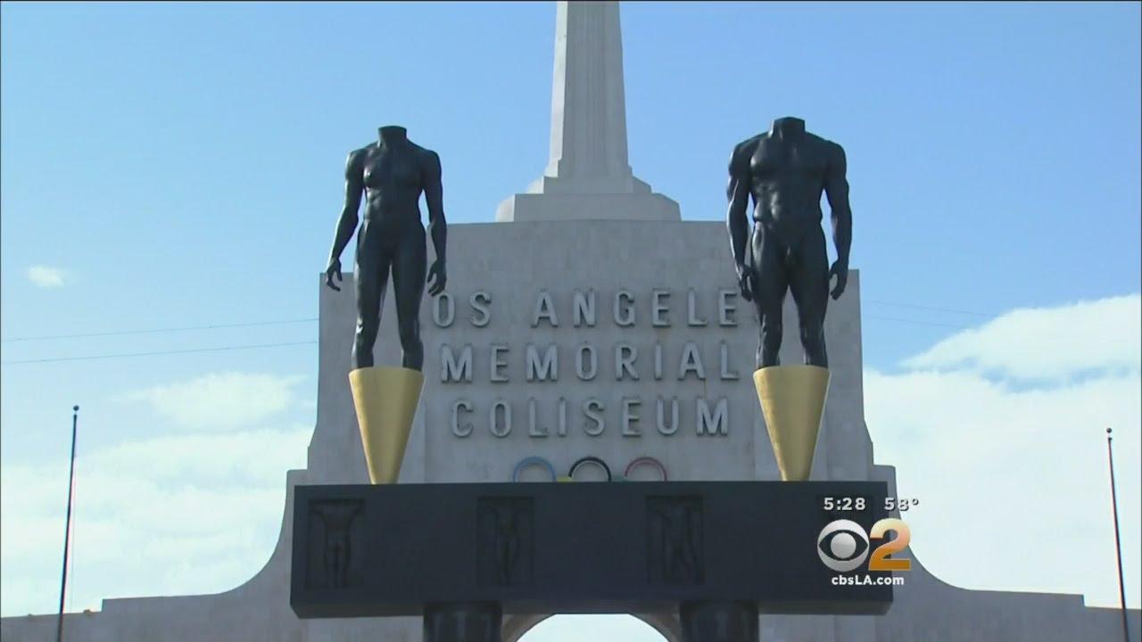 Businesses Near LA Memorial Coliseum Brace For Return Of Rams To LA