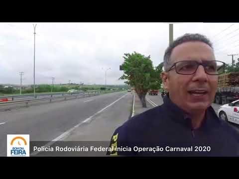PRF inicia Operação Carnaval 2020