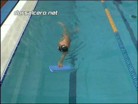5.19 - Piernas lateral. Ejercicio de natación - YouTube
