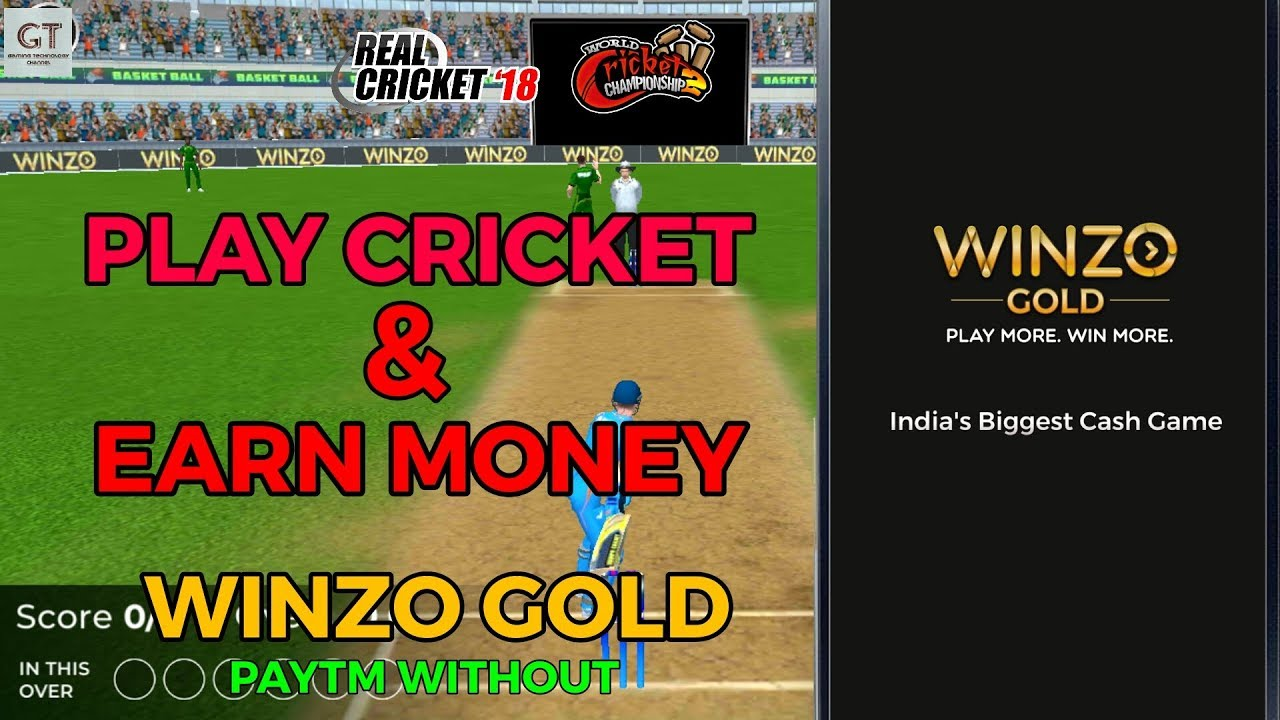 THE NEW CRICKET GAME - PLAY CRICKET GAMES & EARN MONEY WINZO GOLD