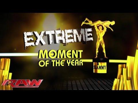 Extreme Moment of the Year: 2013 Slammy Award Presentation