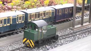 GARDEN RAILWAY Outdoor Locomotives - Stream - Trains - Norway 2017