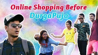 Online Shopping Before Durga Puja ft. The Bong Guy | Bengali Comedy Video