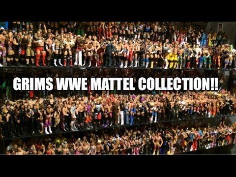 Huge WWE MATTEL WRESTLING FIGURE Collection! Elites, Exclusives, Basics! Epic Display!