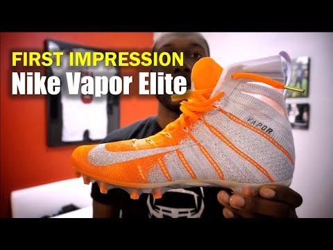 Nike Vapor Untouchable 3 Elite Cleats: 1st Impression