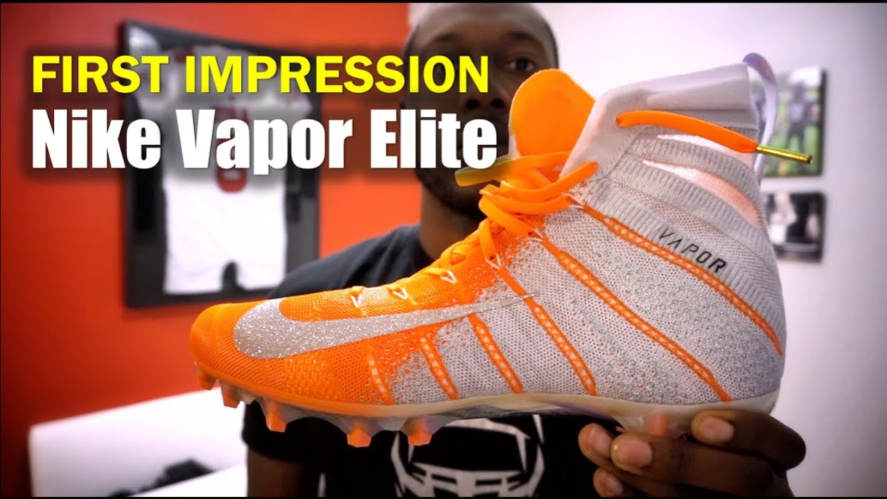 c4ad45590d615 NIKE Vapor Untouchable 3 ELITE Cleats: 1st Impression - YouTube