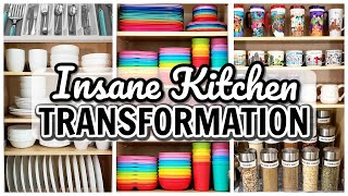 EASY KITCHEN ORGANIZATION HACKS 2020 | Clean & Declutter With Me