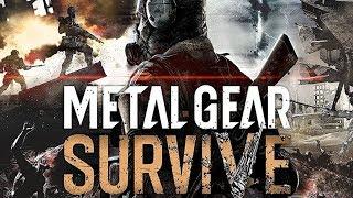 Sobrevivencia Com Zumbis e Construindo Bases - Analisando Gameplay Metal Gear Survive