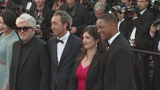 Will Smith, Jessica Chastain, Bella Hadid shine on red carpet for 70th annual Cannes Film Festival