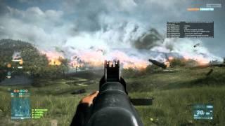 Battlefield 3 Test on PC.