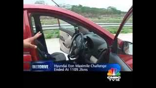 Hyundai Eon Maximile challenge by OVERDRIVE