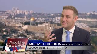 Israel Now News : Michael Dickson on ISRESILIENCE