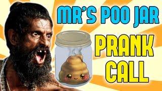 Mrs. POO JAR - Prank (& Mr Piss Cup)