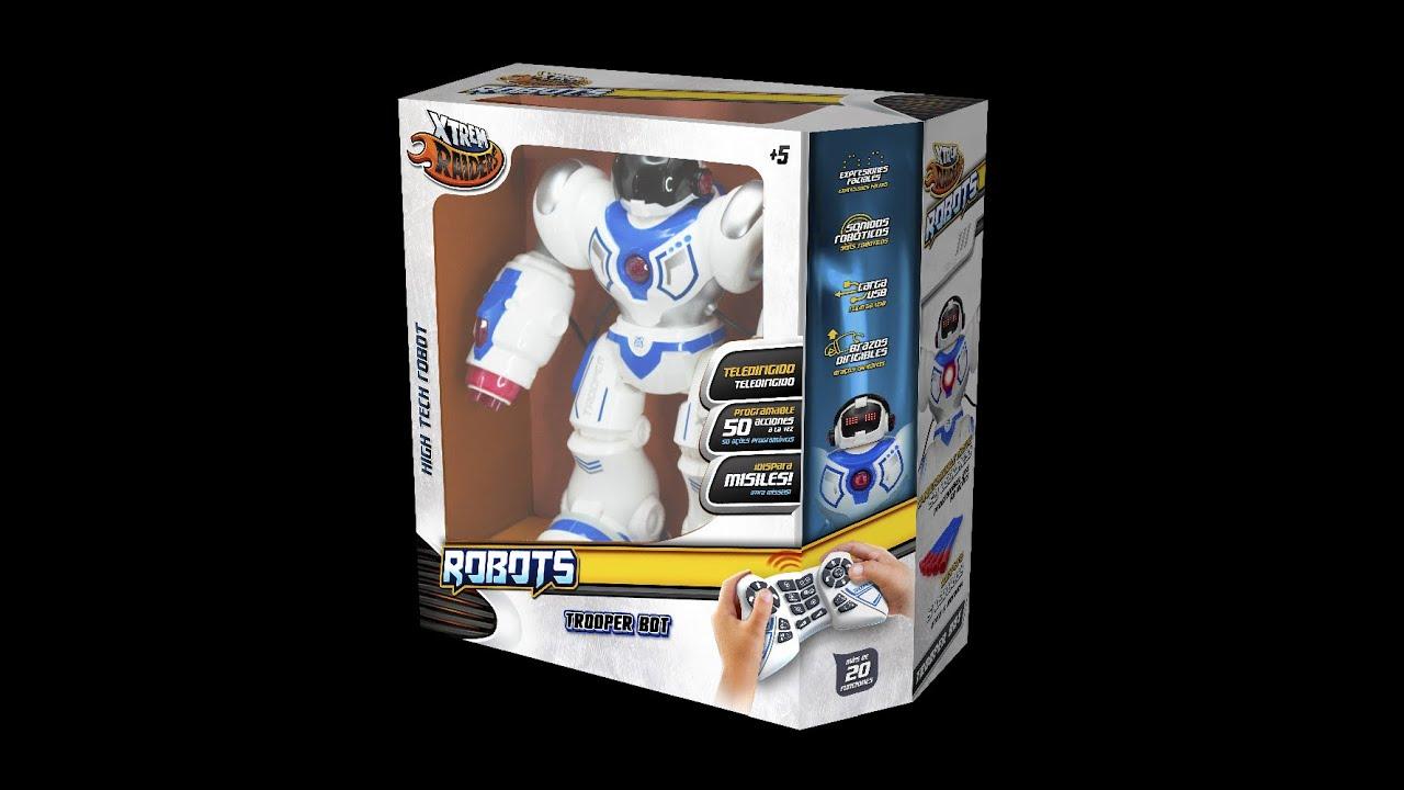 Elektrisches Spielzeug Xtrem Bots Xt30039 Xtrem Bots Trooper Bot