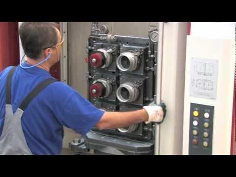 Tecnologia de fixação hidráulica AMF com braçadeiras verticais