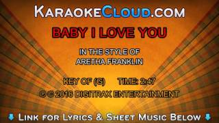 Aretha Franklin - Baby I Love You (Backing Track)
