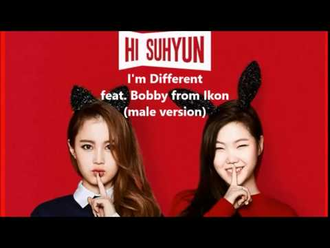 Hi Suhyun & Lee HI Feat. Bobby From Ikon - I'm Different (male Version)
