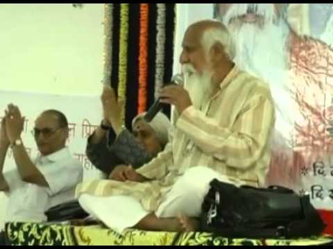 """Aham Brahmasmi... We are all Gods"" - Patriji, Pune"