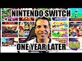 NINTENDO SWITCH ONE YEAR LATER AND THE GAMES I OWN