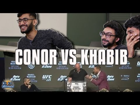 MUSLIMS REACTING TO KHABIB VS MCGREGOR FIGHT CONFERENCE