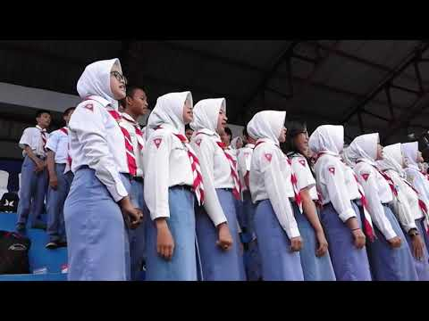 Garuda Pancasila Dan Halo-halo Bandung - Paduan Suara SMAN 2 Kuala Kapuas