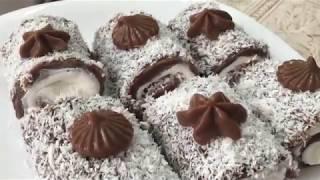 Вкусный десерт из заварного крема 😋👍🏻Быстрый и Лёгкий рецепт