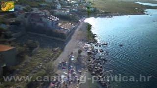 RAZANAC FROM THE AIR, Camping Puntica, Razanac, Croatia