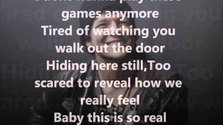 All The Wrong Places - Tyler Ward and Justin Reid (Feat. Eppic) Lyrics On Screen