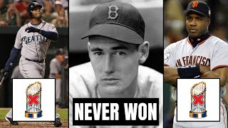 MLB Stars Who NEVER Won A World Series