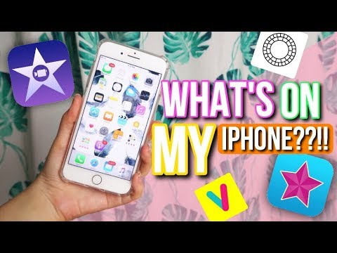 BEST VIDEO EDITING APPS ON IPHONE 2017?! ♡ WHAT'S ON MY PHONE! - INDONESIA