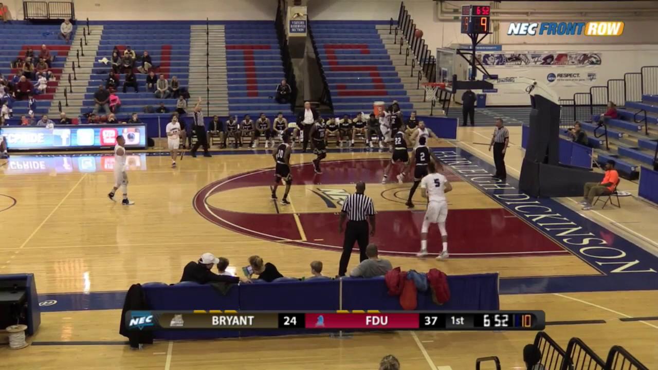 FDU Men's Basketball vs. Bryant - Highlights - YouTube