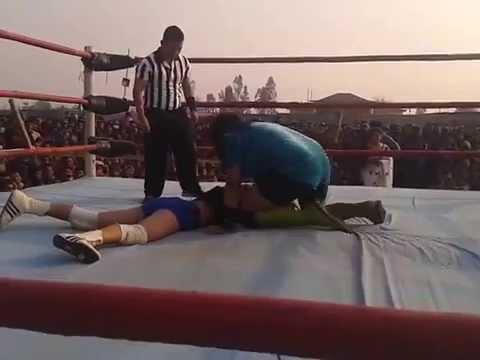 leadies wrestling unika vs jureli part 2 in nepal