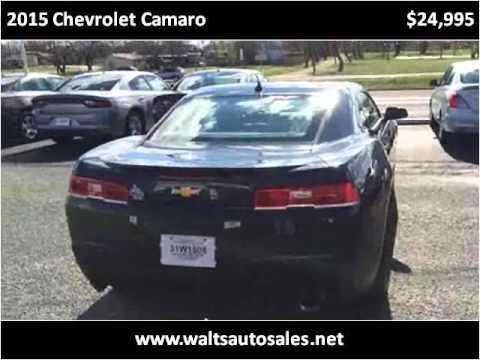 2015 Chevrolet Camaro Used Cars San Angelo TX