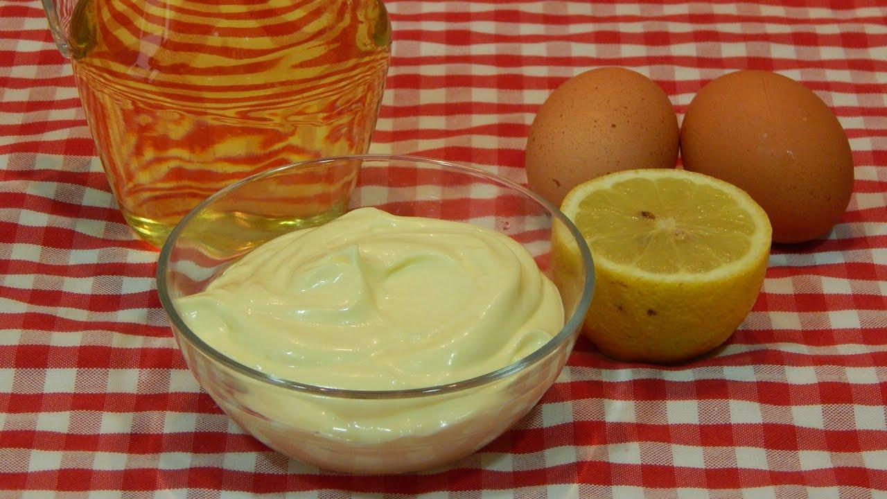 mayonesa facil