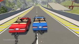 Zincirli Araba Çılgınlığı - BeamNG Drive
