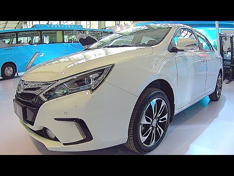 BYD DM 2016, 2017 Chinese electric cars, auto exterior, interior