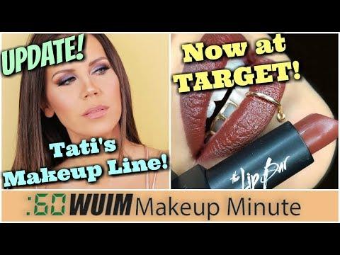 UPDATE Tati's Makeup Line! Black Owned Brand The Lip Bar now at TARGET! | Makeup Minute