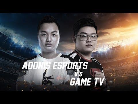 GameTv vs Adonis Esports - Playoff - Đấu Trường Danh Vọng Mùa Xuân 2018 - Garena Liên Quân Mobile