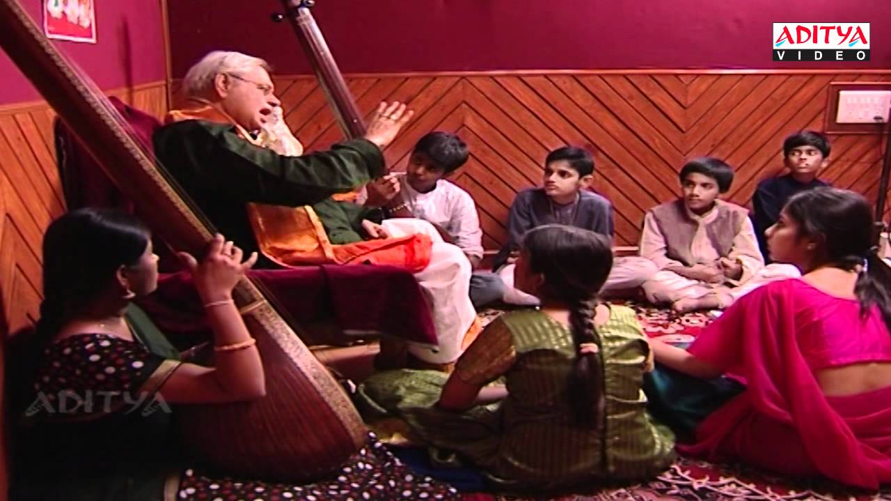 Indian classical music Lessons By Dr. Nookala China Sathyanarayana - part 13