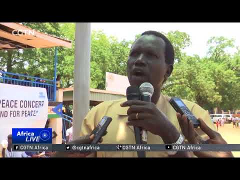 South Sudan youth and women stage concert calling for peace