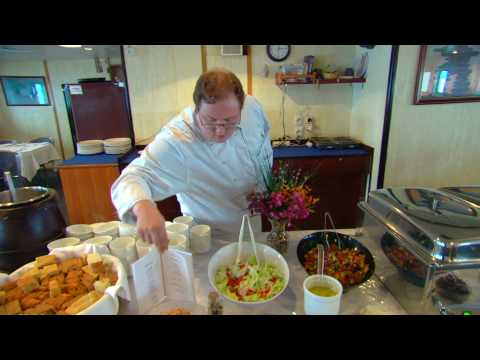 Arctic Cruise Cooking in the Northwest Passage - Nunavut, Canada