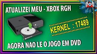 Atualizei meu Xbox RGH Para o Kernel:17489 - Agora nao le Jogo em DVD