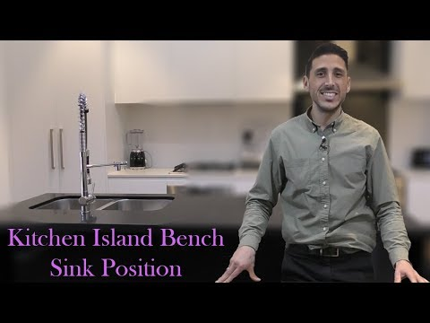 Kitchen Island Bench - Sink Position | Simone TV: Episode 115