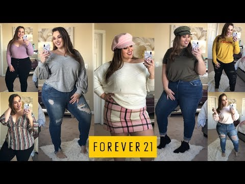 HUGE Forever 21 Plus Try-On Haul ❄️ Winter Edition ❄️ | Sarah Rae Vargas