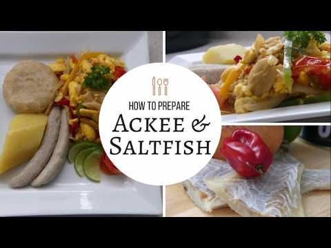 How To Cook Ackee And Saltfish | Lesson #6 | Jamaican Style | Morris Time Cooking