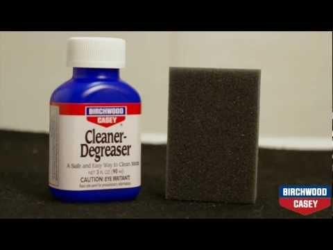How To Blue A Gun Using Birchwood Casey's Perma Blue Liquid Gun Blue Kit