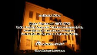 Audiência Pública PPA 01-09-2017